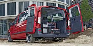 Space wagon – the Mercedes-Benz Vito Sprinter