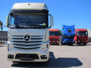 Mercedes-Benz trucks with great offers - Telligent Maintenance System