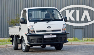 New LCV the KIA K2700 Sebenza