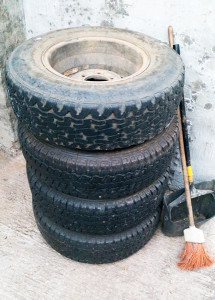 Recycling Old Tyres