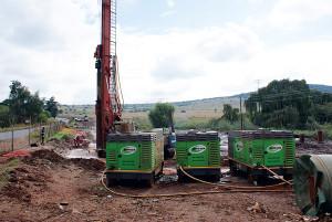 Rent or buy euipment, such as generators