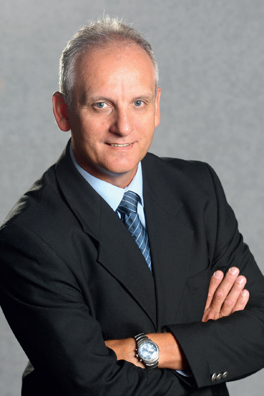 Ernie Trautman, Vice President of Hino South Africa.