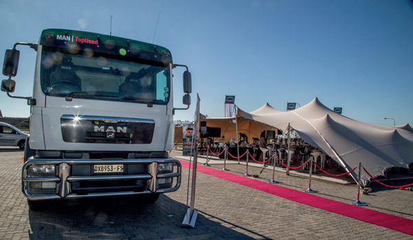 Geoff du Plessis, Managing Director of MAN Truck and Bus SA.