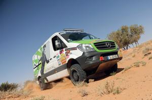 Mercedes-Benz Sprinter in any terrain
