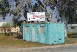 The local Harrismith community provides pastoral services for long-haul drivers