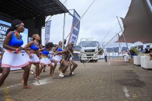 African Dancers at the Man Trucks SA Launch