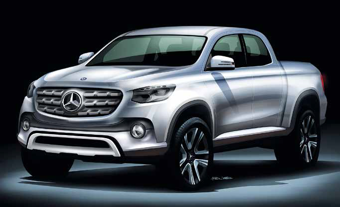 Together, Daimler and Renault - Nissan will develop a one-ton bakkie for Mercedes-Benz