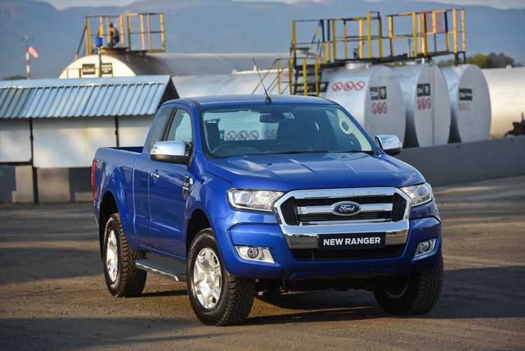 New Ford ranger Super Cab