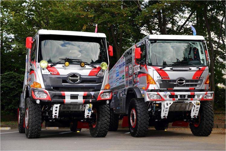2016 dakar rally Trucks