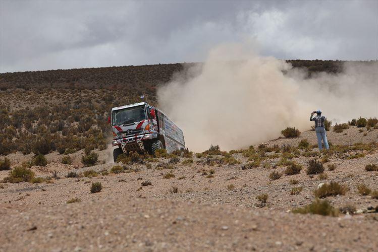 Hino Finishes 25th consecutive Dakar Rally