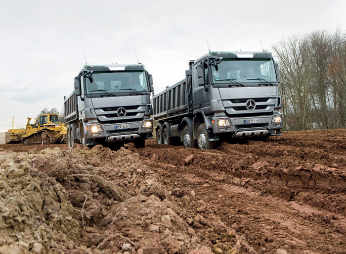 Daimler Trucks & Buses product offering: Mercedes-Benz Actros