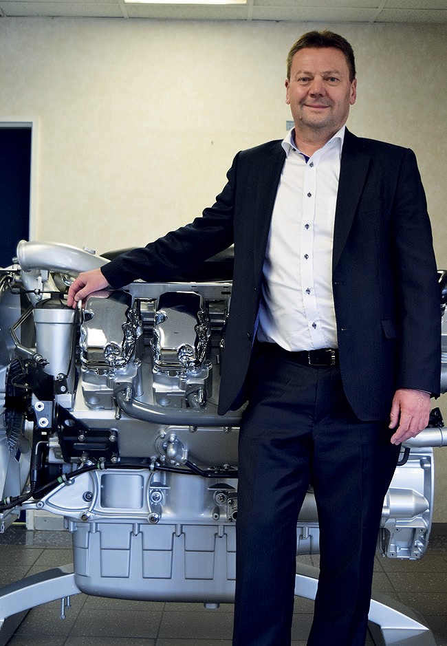 Steve Wager, Managing Director of Scania, South Africa