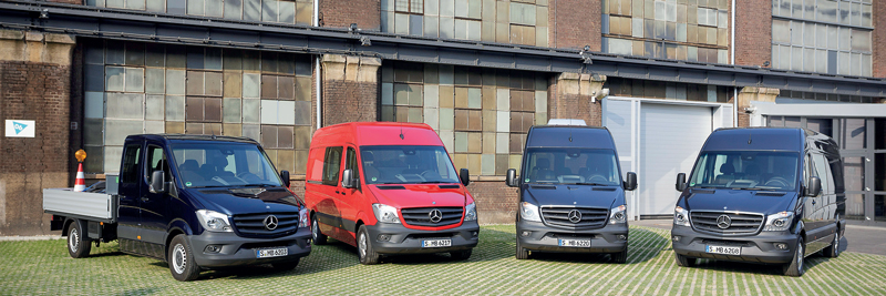Hassle-free operation for Mercedes-Benz Sprinter