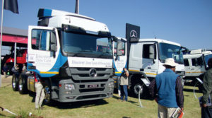 MBSA displayed all its commerical vehicles, and the stands attracted many visitors.