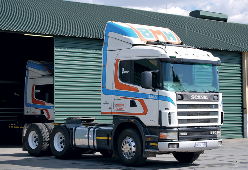 The strong reputation built by the original Scania V8 engine lives on. BM Hauliers ran 3-Series Scania Streamlines for over two million kilometres on the original engines, which weren't even opened and didn't need overhauling.