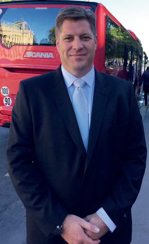 Mark Erasmus, Scania's GM: Services and aftersales