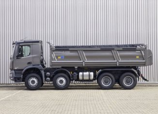 Mercedes-benz, construction vehicle