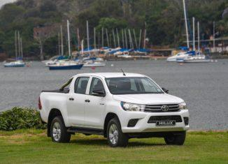 Hilux at dock