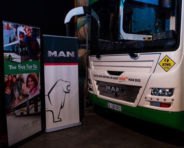 Bus #1000 from MAN to GABS