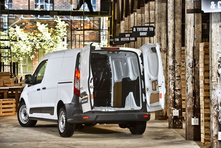 Ford Transit Connect back