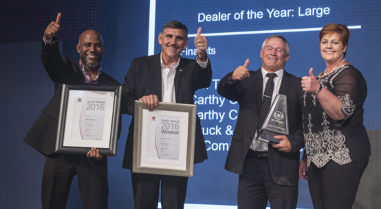 Accolades for UD Trucks' best dealers