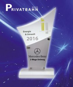 unimog rail magazine award