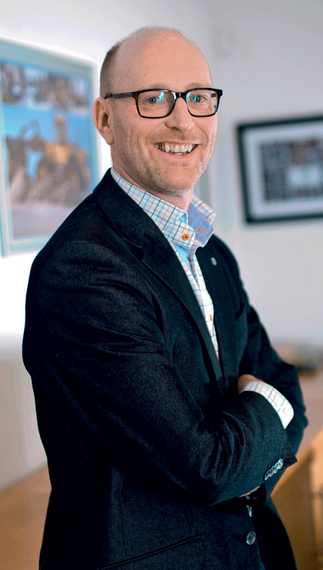 Torbjörn Christensson, President of Volvo Group Southern Africa.