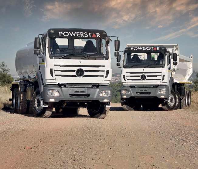 2 powerstar trucks