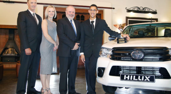 Toyota New Harvest of the Year