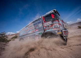 DakarRally2018 - kicking up dust