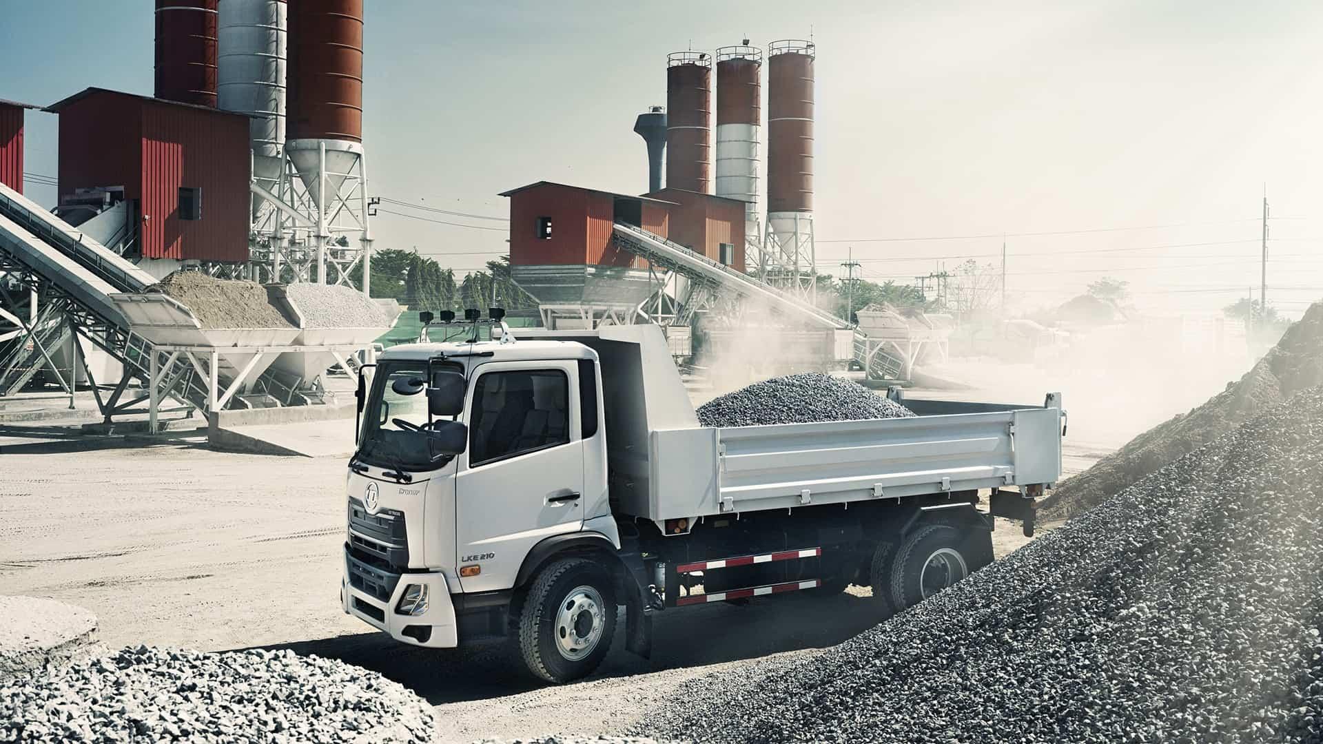 SMMEs insurance cover. UD Corner dump truck
