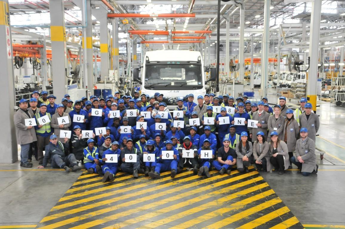 4000th unit 2 at SA's Coega Plant