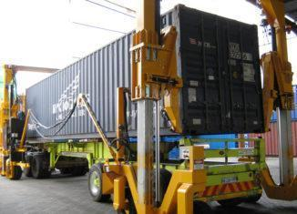Mobicon mobile container handler