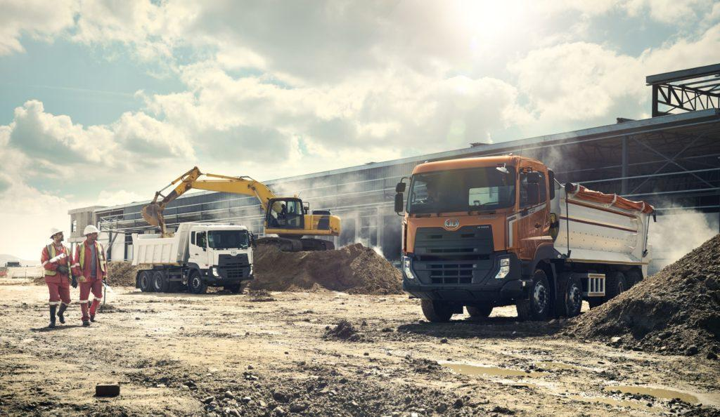 UD Trucks New Quester and Kuzer