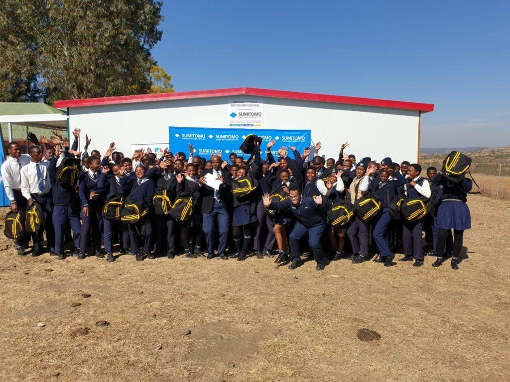 Mandela Day classroom donation to make matric learning easier