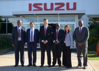 Minister of Trade and Industry visits Isuzu Motors South Africa