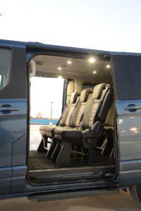 Ford Tourneo Custom Seats