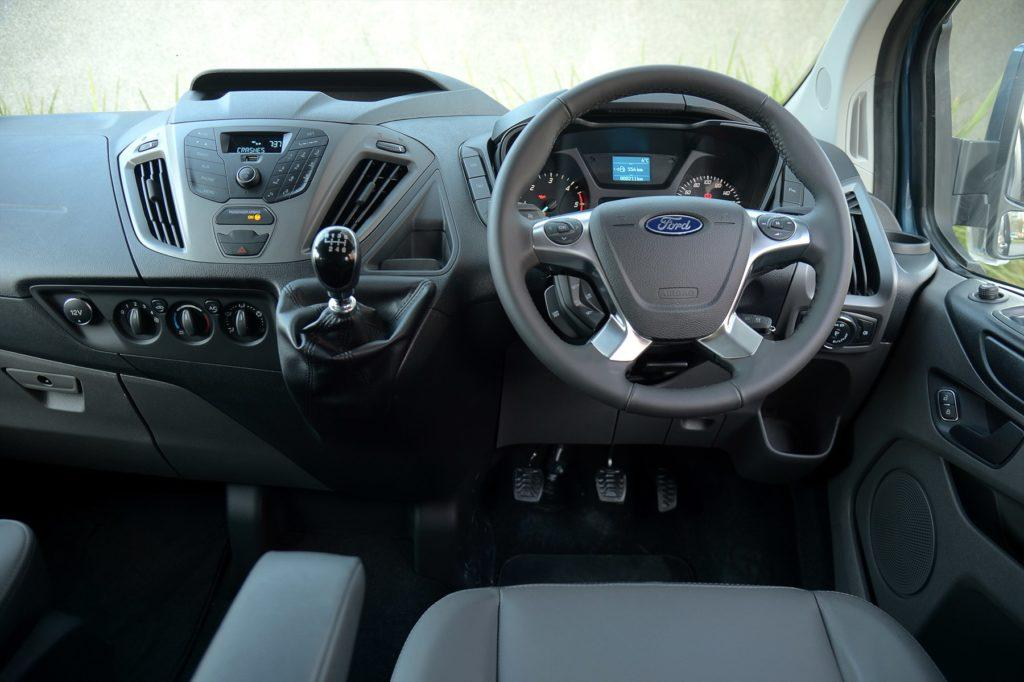 Ford Tourneo Custom Interior