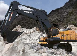 Robust Hyundai R1250-9 excavators replace R1200-9 series
