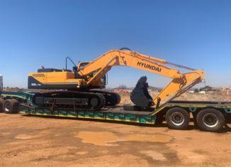 HPE Africa supplies Hyundai construction equipment to Civplant Civils