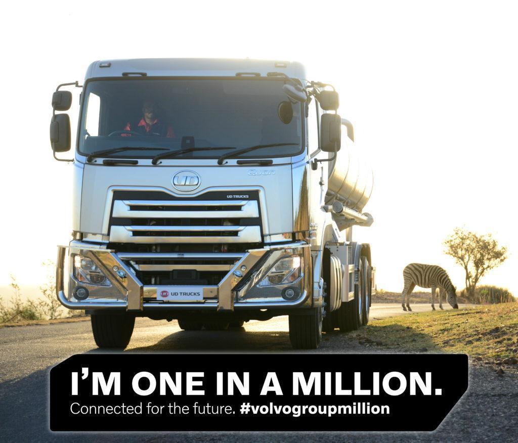 The Volvo Group passes the milestone of one million connected customer assets