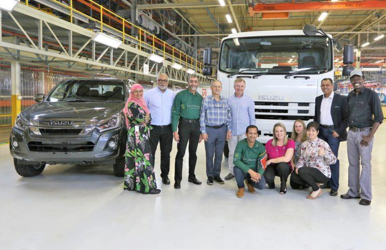 Isuzu's community partners share their project success