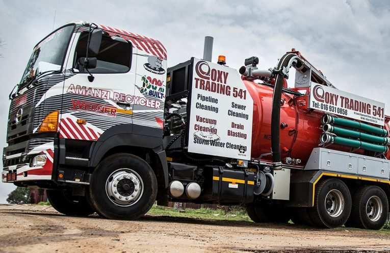 WATER RECYCLING TRUCK 3