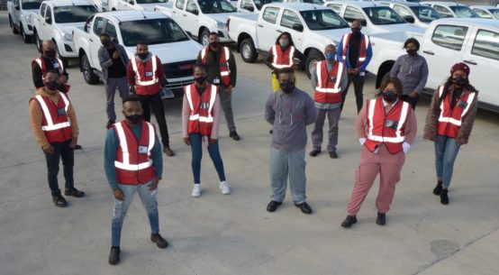 Work experience for 72 unemployed youths at Isuzu Motors South Africa