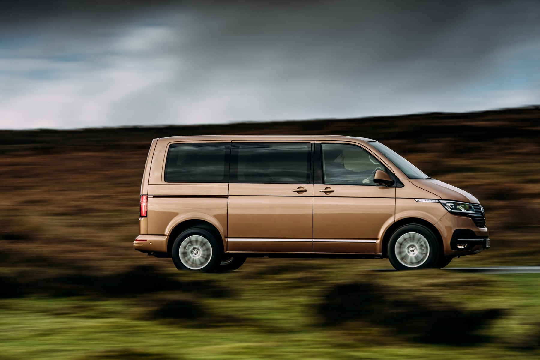 The sixth generation Volkswagen Transporter range gets a facelift