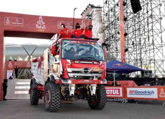 HINO RETAINS ITS PROUD WINNING RECORD IN DAKAR RALLY