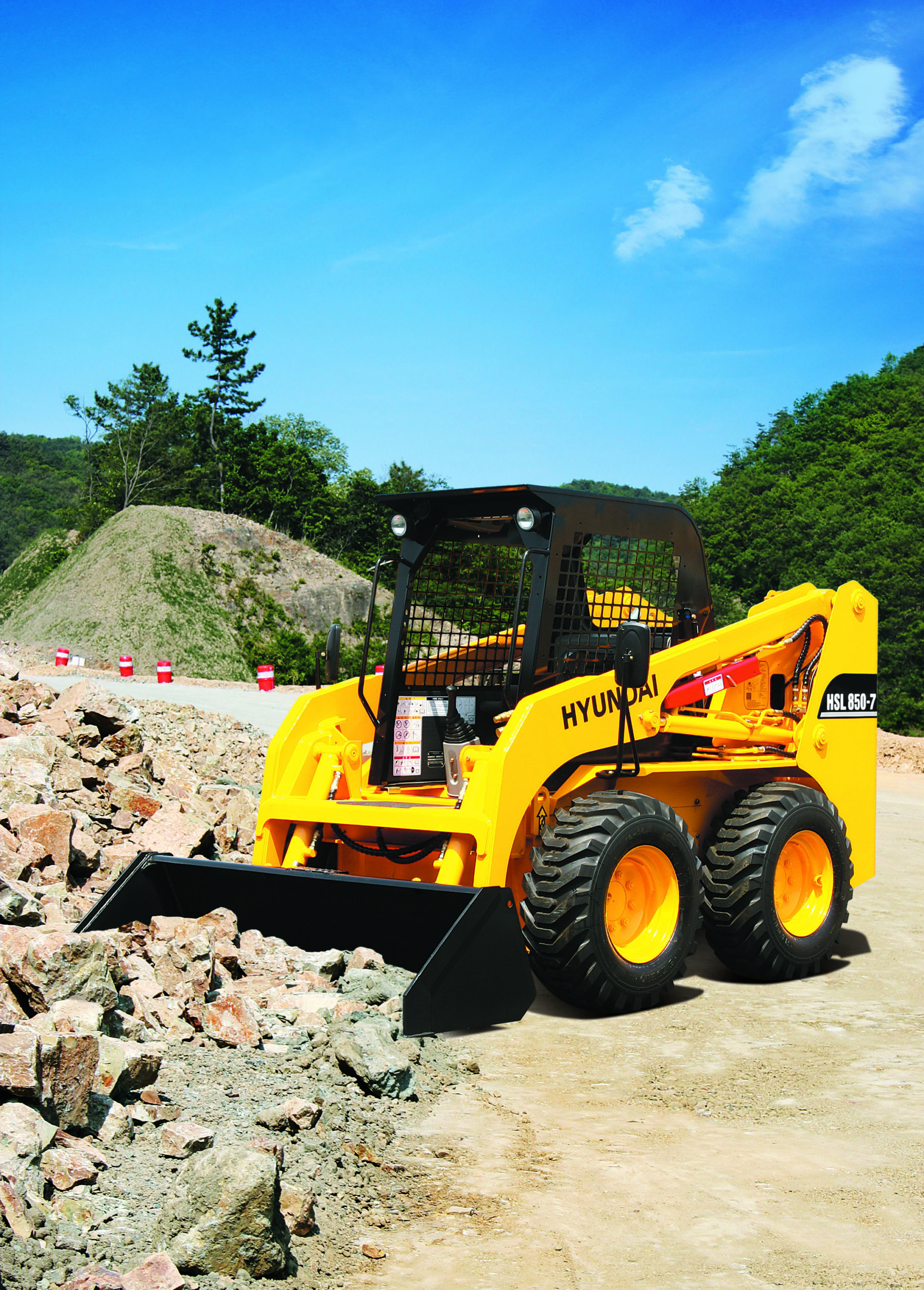 HPE Africa's robust range of Hyundai construction equipment for municipalities