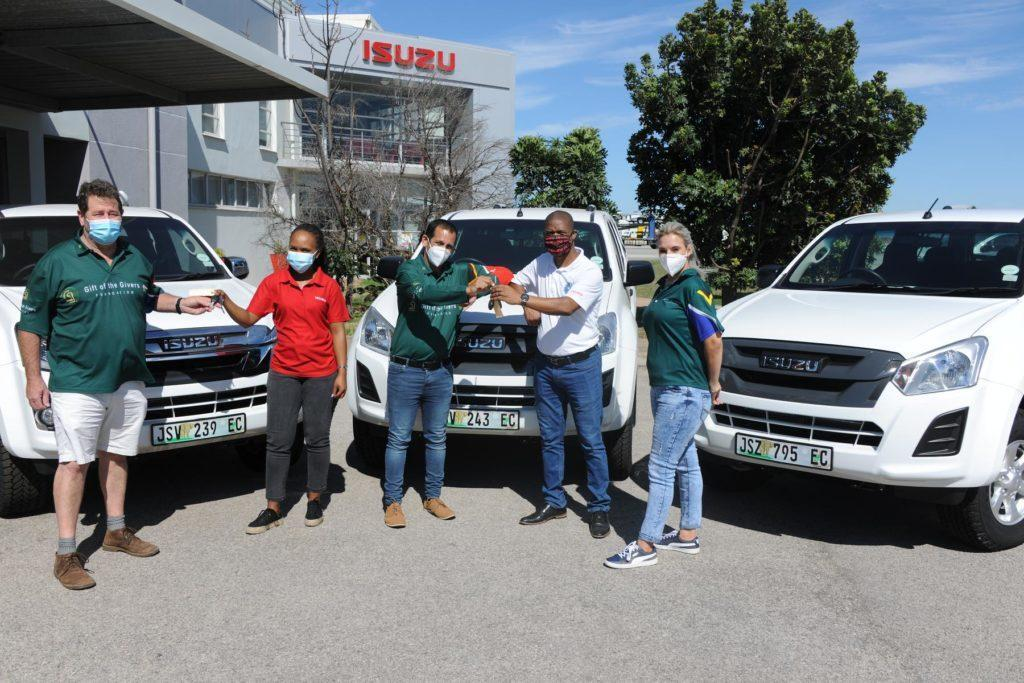 Isuzu at the forefront of rural disaster relief