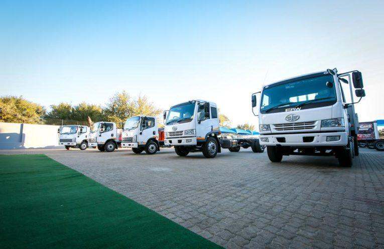 Faw Trucks Reaffirms Its Commitment To The Namibian Market