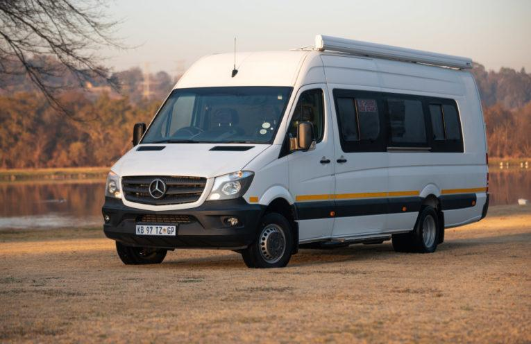 Mercedes-Benz Sprinter takes Nelson Mandela's legacy to the people